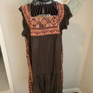 "Free People ""Day Glow Mini Dress"" Size L"